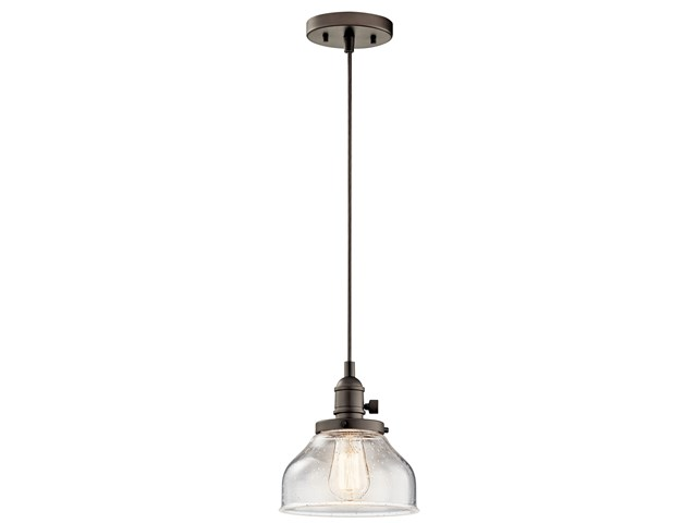 Avery™ 1 Light Bell Mini Pendant Olde Bronze®