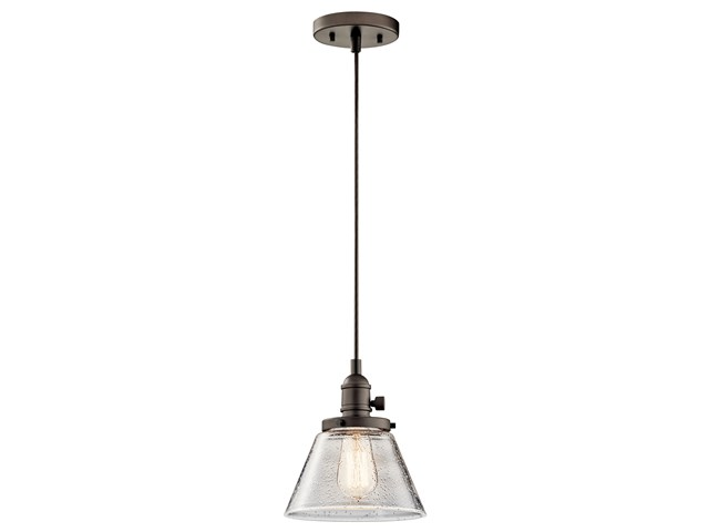 Avery™ 1 Light Cone Mini Pendant Olde Bronze®