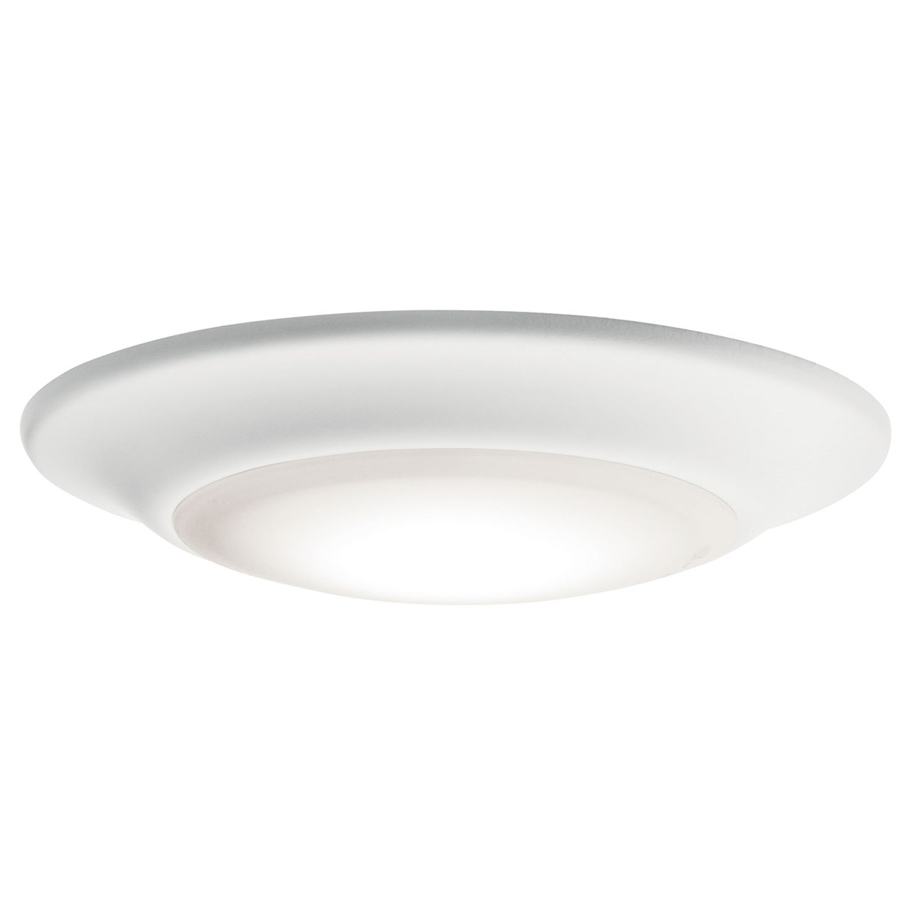 "Downlight Gen I 6"" 3000K LED Flush Mount White"