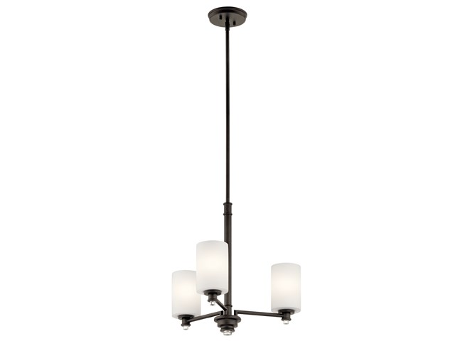 Joelson™ 3 Light Chandelier Olde Bronze®