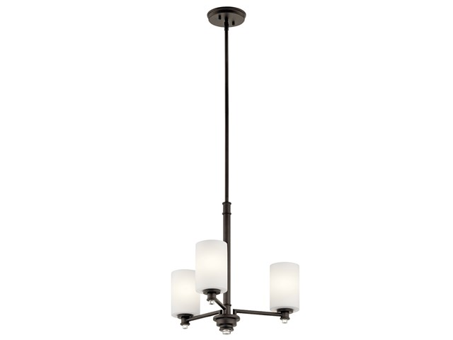 Joelson™ 3 Light Mini Chandelier Olde Bronze®