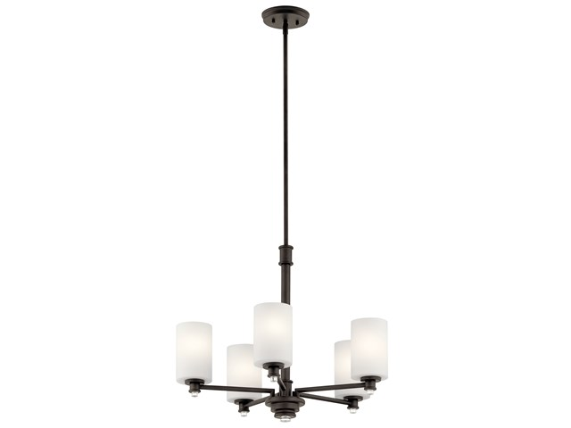 Joelson™ 5 Light Chandelier Olde Bronze®