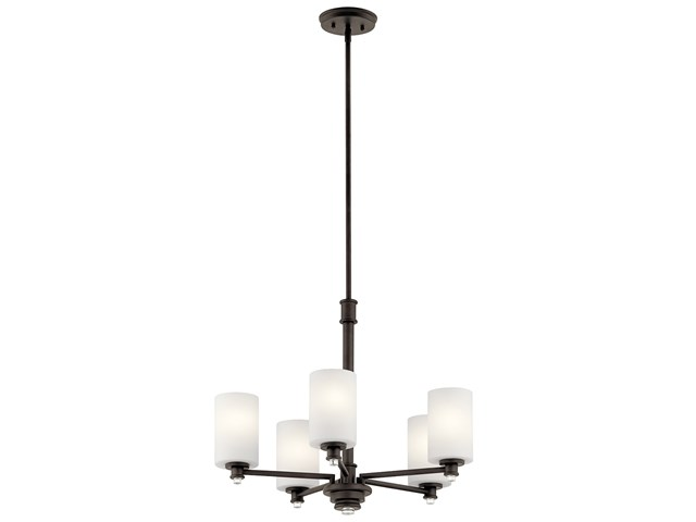 Joelson™ 5 Light Chandelier with LED Bulbs Olde Bronze®