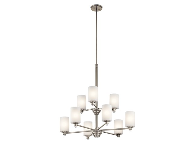 Joelson™ 9 Light Chandelier Brushed Nickel
