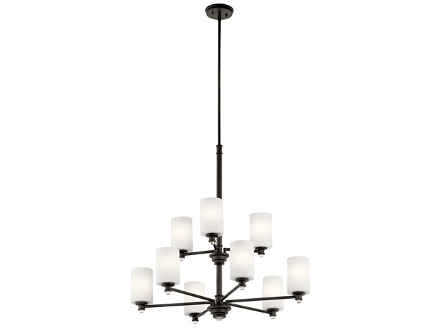 Joelson™ 9 Light Chandelier Olde Bronze®