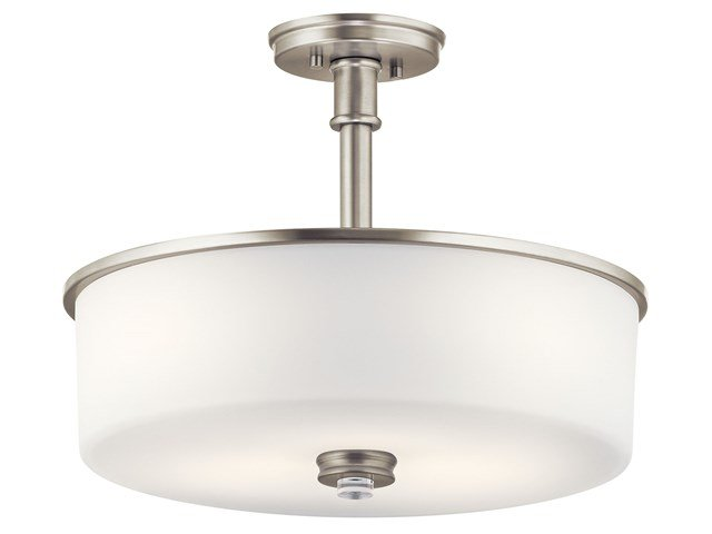 Joelson™ 3 Light Convertible Pendant Brushed Nickel