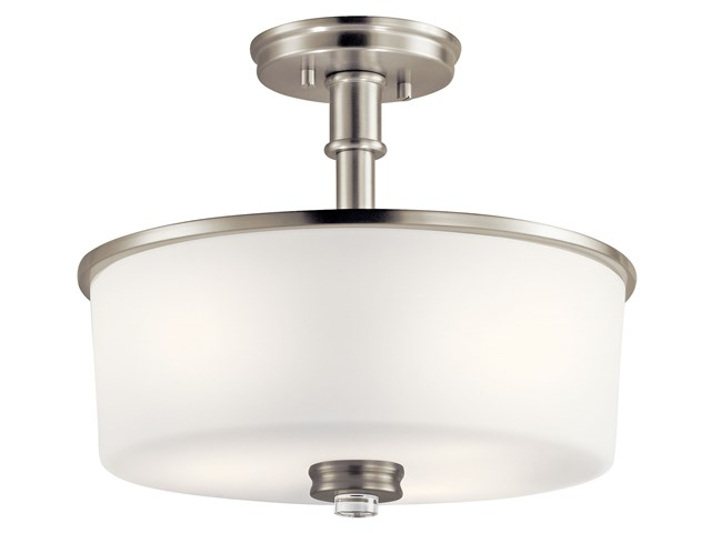 Joelson™ 3 Light Semi Flush Brushed Nickel