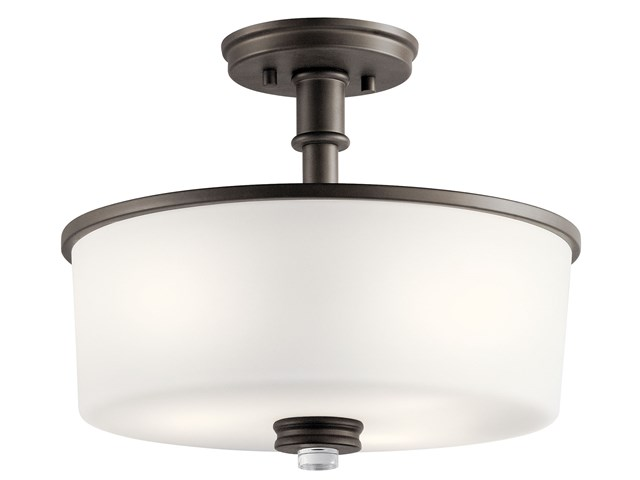 Joelson™ 3 Light Semi Flush Olde Bronze®