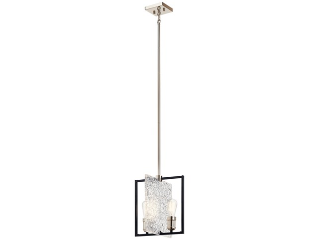 Forge™ 2 Light Pendant Black