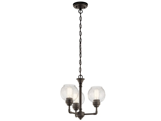 Niles 3 Light Convertible Chandelier Olde Bronze®