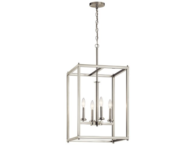 Crosby™ 4 Light Foyer Pendant Brushed Nickel