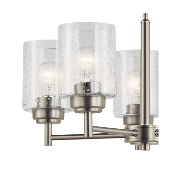 Winslow™ 5 Light Chandelier Brushed Nickel
