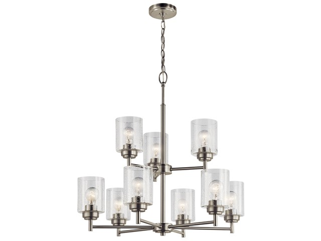 Winslow™ 9 Light Chandelier Brushed Nickel