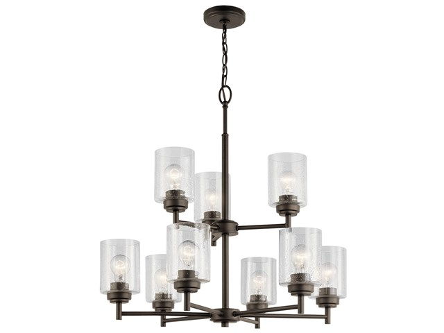 Winslow™ 9 Light Chandelier Olde Bronze®