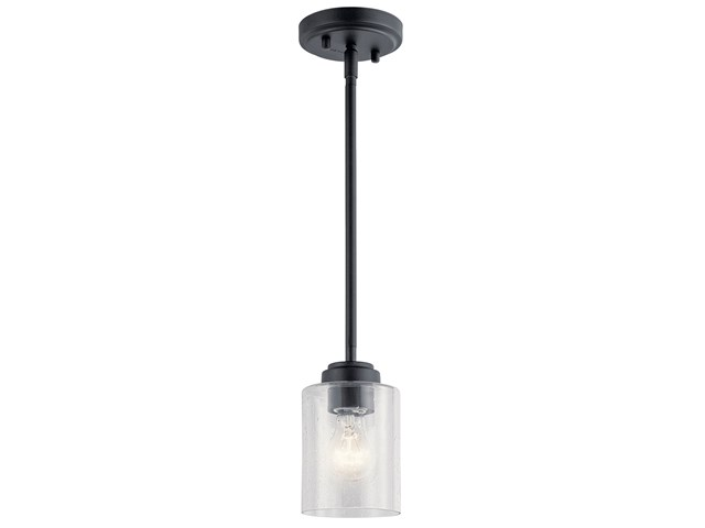 Winslow™ 1 Light Mini Pendant Black