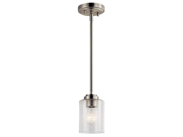 Winslow™ 1 Light Mini Pendant Brushed Nickel