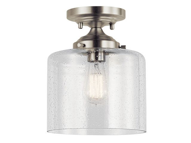 Winslow™ 1 Light Semi Flush Brushed Nickel