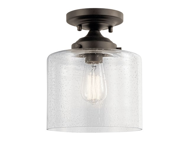 Winslow™ 1 Light Semi Flush Olde Bronze®