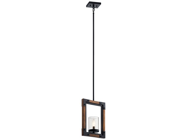 Marimount™ 1 Light Mini Pendant Auburn Stained
