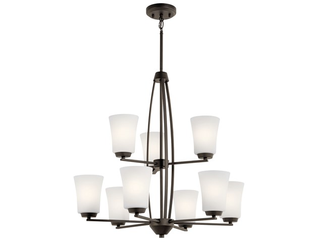 Tao 9 Light Chandelier Olde Bronze®