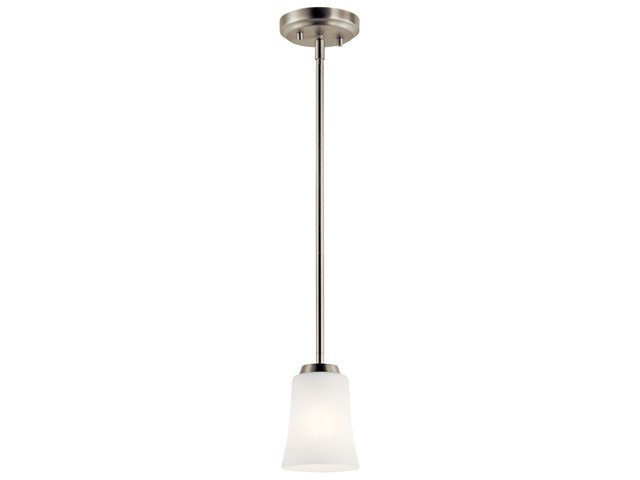 Tao 1 Light Mini Pendant Brushed Nickel