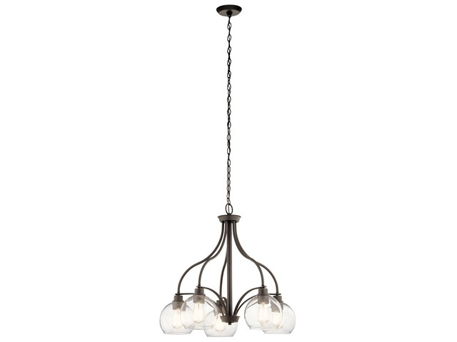 Harmony 5 Light Chandelier Olde Bronze®