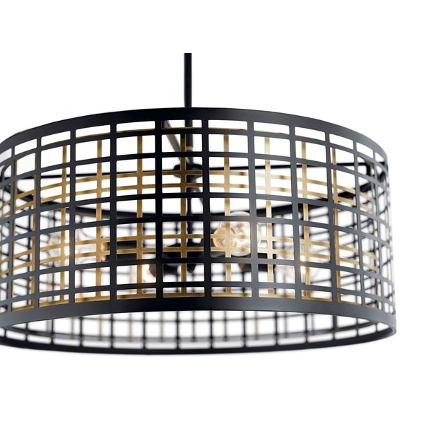 Aldergate™ 4 Light Chandelier Black