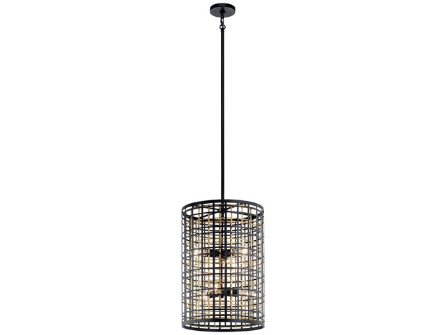 Aldergate™ 6 Light Foyer Pendant Black