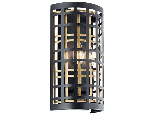 Aldergate™ 2 Light Wall Sconce Black