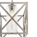 Moorgate™ 7 Light Linear Chandelier Distressed Antique White