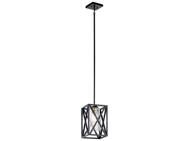 Moorgate™ 1 Light Mini Pendant Black