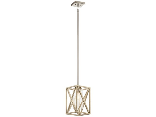 Moorgate™ 1 Light Mini Pendant Distressed Antique White
