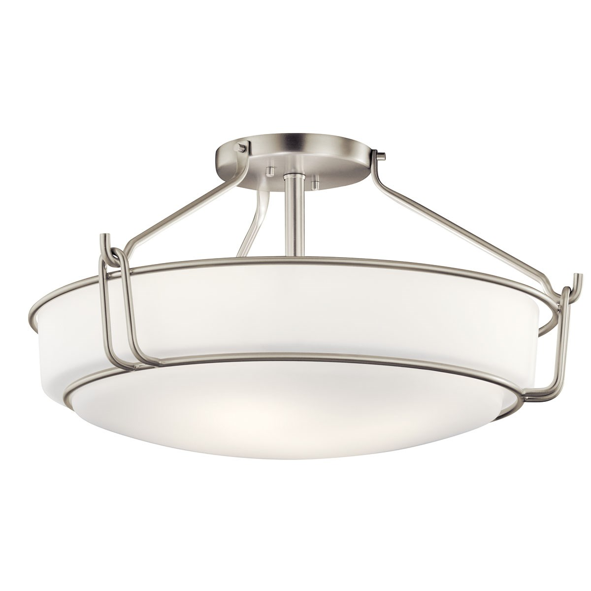Alkire 4 Light Semi Flush Brushed Nickel