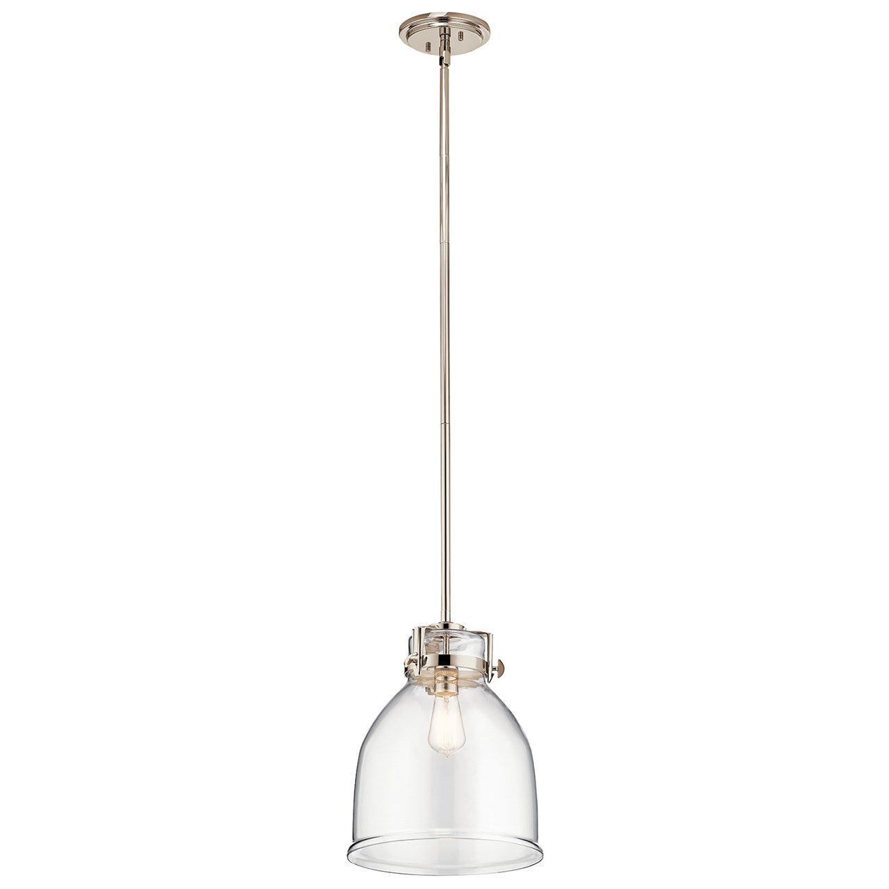 Briar 1 Light Pendant Polished Nickel™