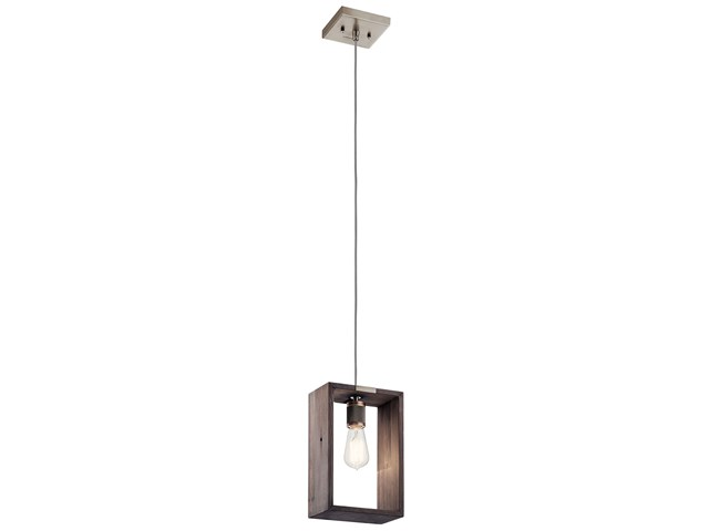 Industrial Frames™ 1 Light Pendant Classic Pewter