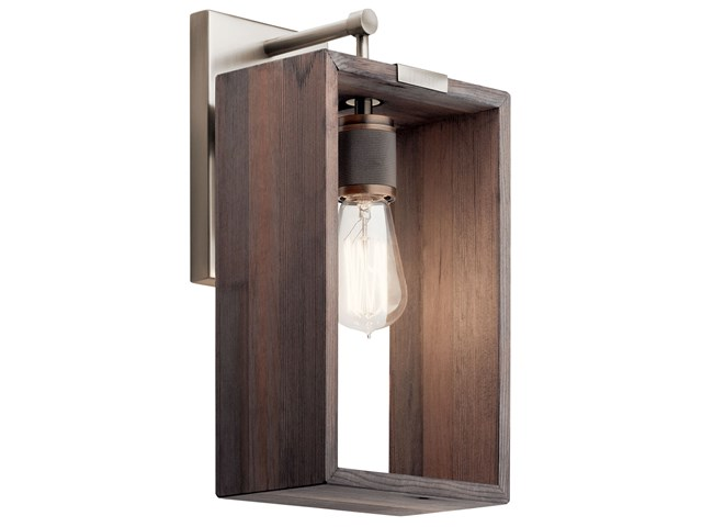 Industrial Frames™ 1 Light Wall Sconce Classic Pewter