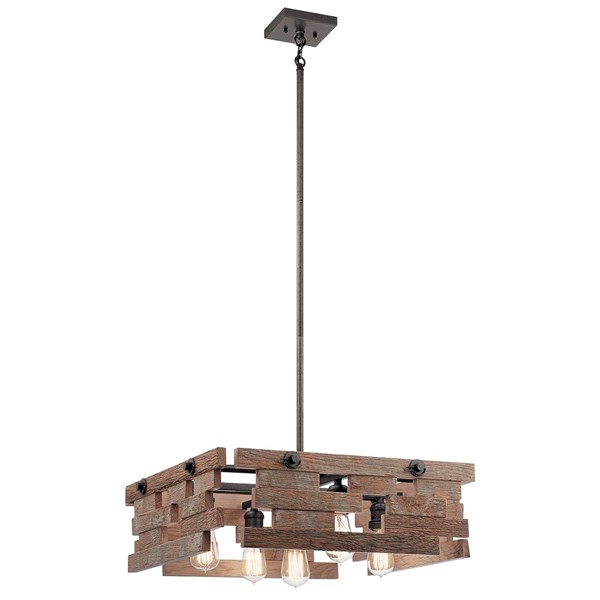 Cuyahoga Mill 5 Light Chandelier Anvil Iron™