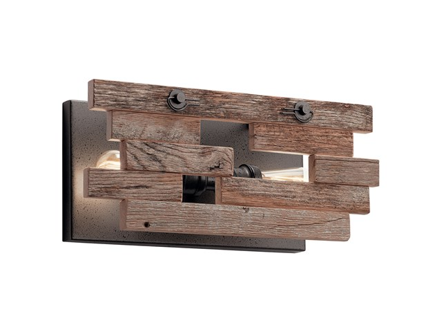 Cuyahoga Mills 2 Light Wall Sconce Anvil Iron™