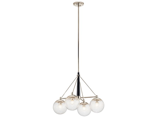 Marilyn 4 Light Chandelier Polished Nickel™