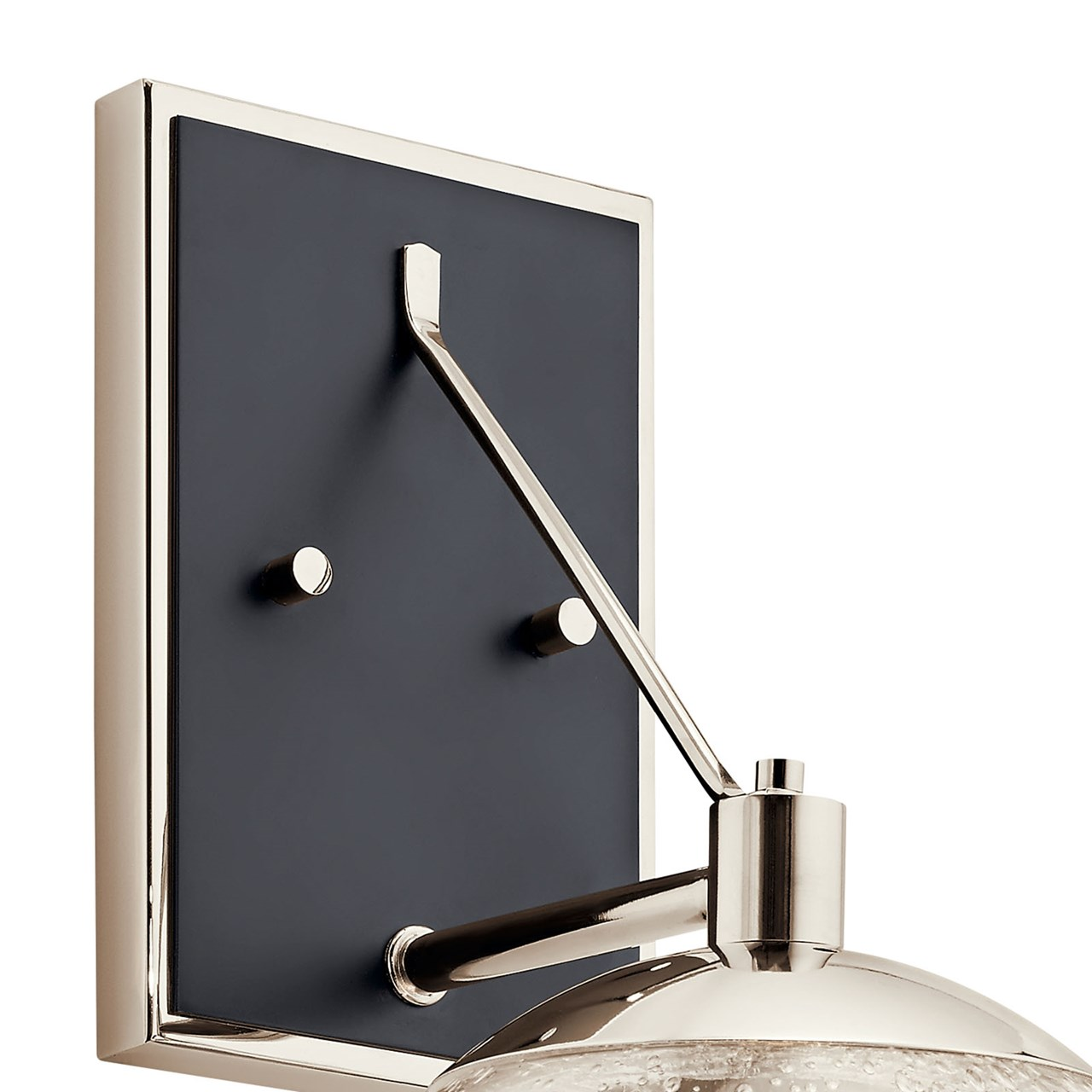 Marilyn 1 Light Wall Sconce Polished Nickel™
