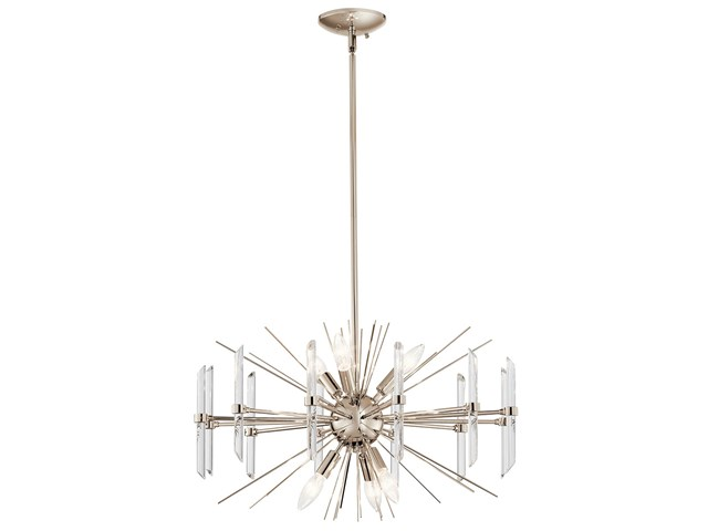 Eris™ 6 Light Chandelier Polished Nickel™