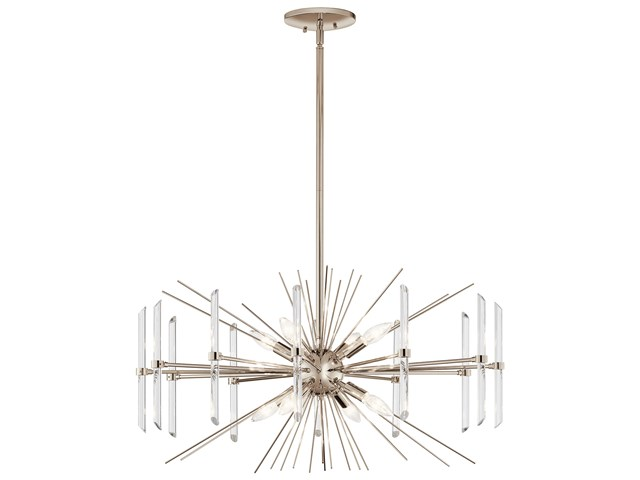 Eris™ 8 Light Chandelier Polished Nickel™