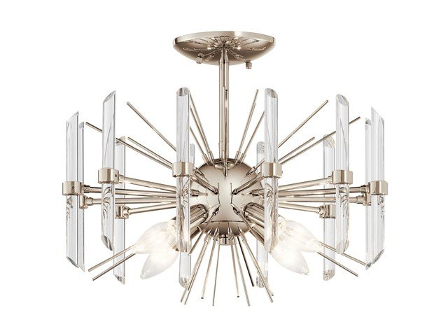 Eris™ 4 Light Semi Flush Polished Nickel™