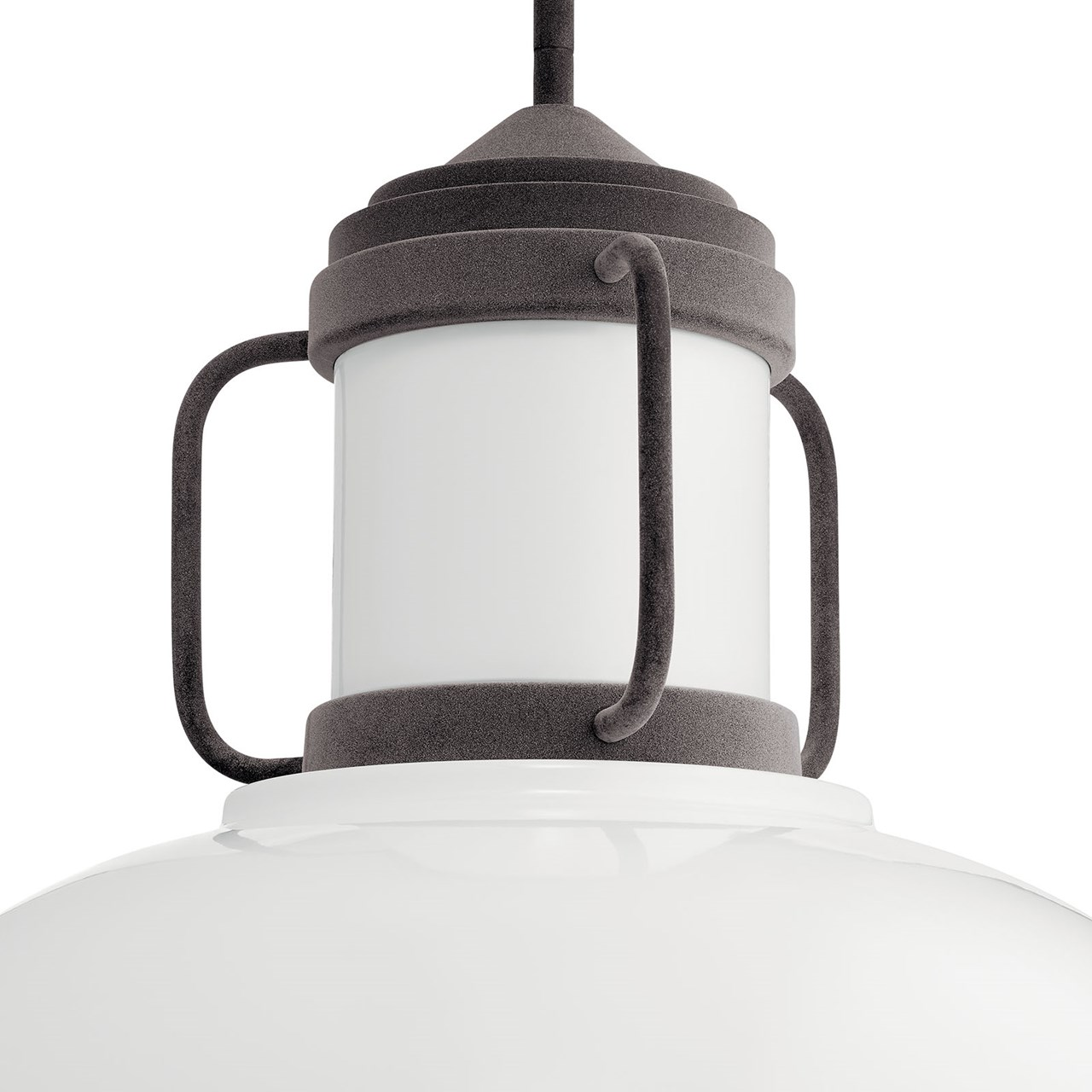 Jenson 3 Light Pendant Weathered Zinc