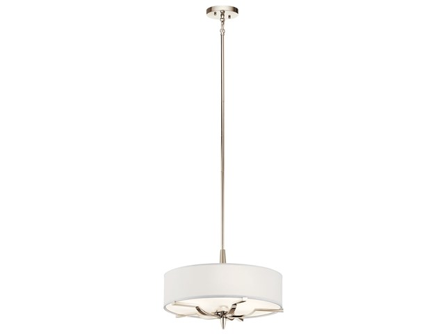 Kinsey™ 3 Light Convertible Pendant Polished Nickel™
