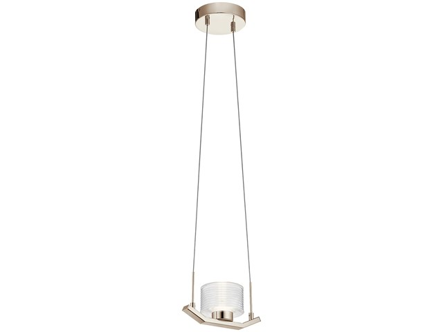 Lasus™ LED Mini Pendant Polished Nickel™