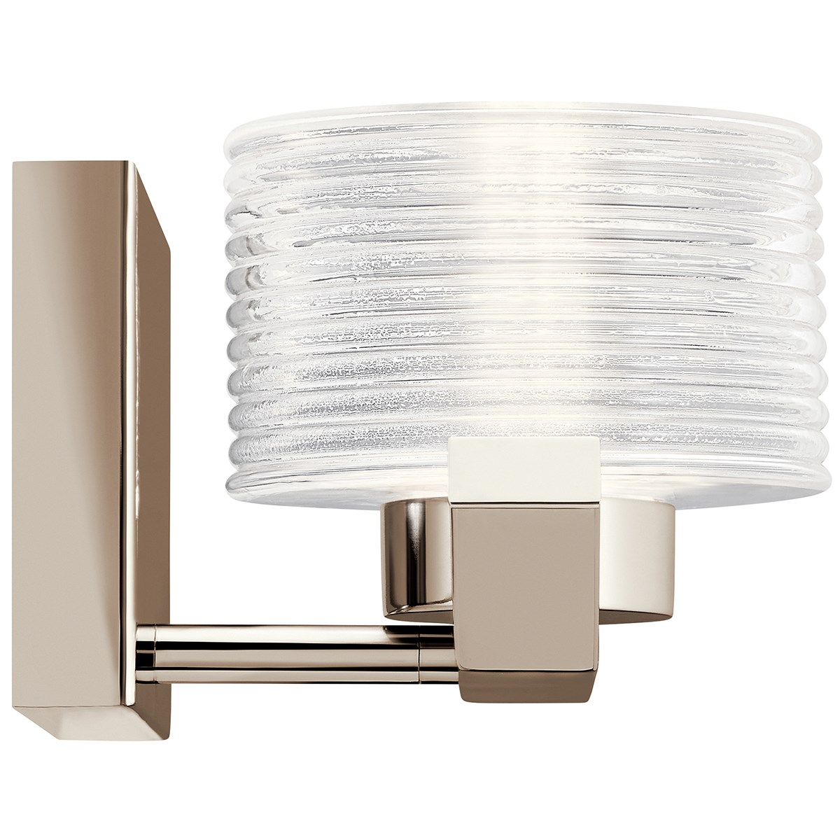 Lasus™ 1 Light LED Wall Sconce Polished Nickel™