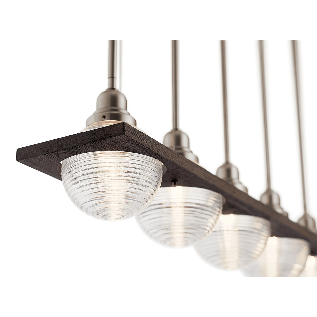 Potomi™ 5 Light Linear Chandelier Classic Pewter