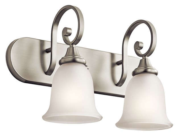 Monroe™ 2 Light Vanity Light Brushed Nickel