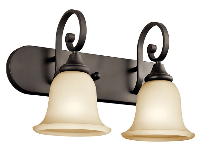 Monroe™ 2 Light Vanity Light Olde Bronze®